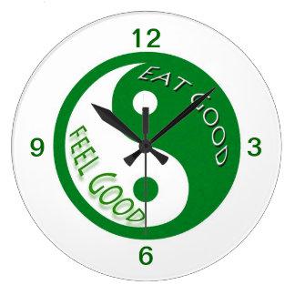 ダイエットおよび減量はよい爽快食べます ラージ壁時計