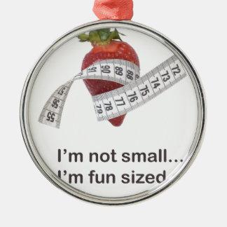 ダイエットの概念 メタルオーナメント