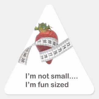 ダイエットの概念 三角形シール