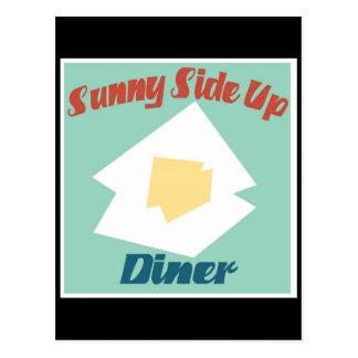ダイナーの上の明るい側面 ポストカード