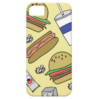 ダイナーの食糧電話箱 iPhone SE/5/5s ケース
