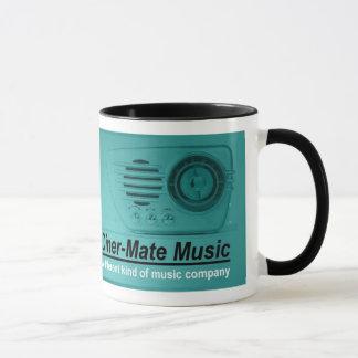 ダイナー仲間音楽マグ マグカップ