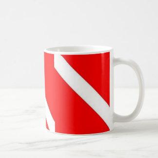 ダイバーのコーヒーカップ コーヒーマグカップ