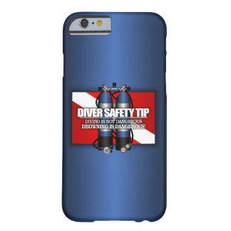 ダイバーの安全先端 (ST) BARELY THERE iPhone 6 ケース