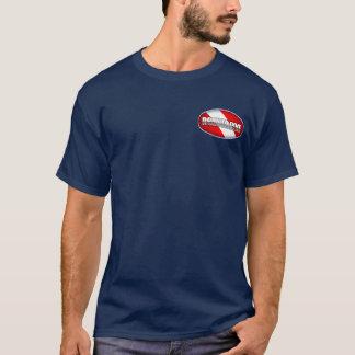 ダイバーの安全先端 Tシャツ
