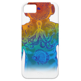 ダイバー iPhone SE/5/5s ケース