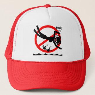 ダイビングの危険のワイシャツおよび服装 キャップ