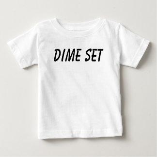 ダイムの一定のベビーのティー ベビーTシャツ