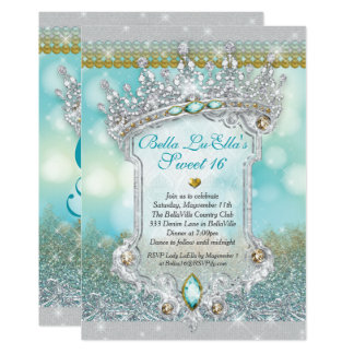 ダイヤモンドおよびきらきら光るな菓子16のマルメロの招待状 カード