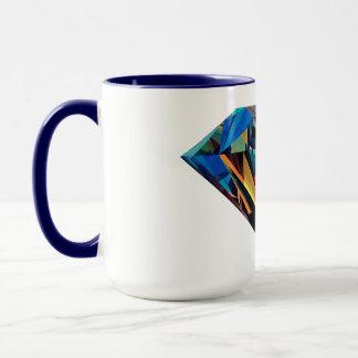 ダイヤモンドによって印刷されるマグ マグカップ
