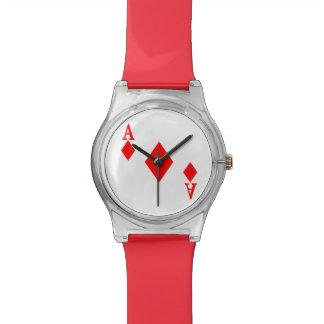 ダイヤモンドのエース 腕時計