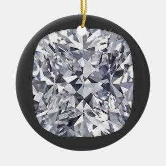 ダイヤモンドのオーナメント セラミックオーナメント