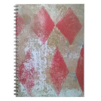 ダイヤモンドのグランジなノート ノートブック