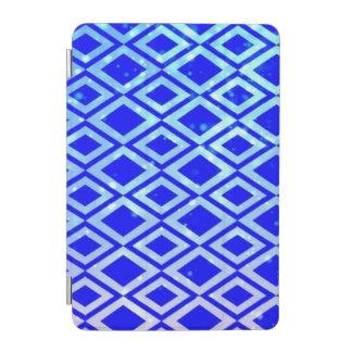 ダイヤモンドのデザインの(青い) iPadの小型頭が切れるなカバー iPad Miniカバー