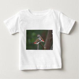 ダイヤモンドのフィンチ ベビーTシャツ