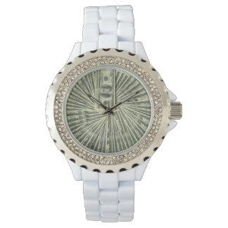 ダイヤモンドのフラッシュ!  そして現金腕時計 腕時計