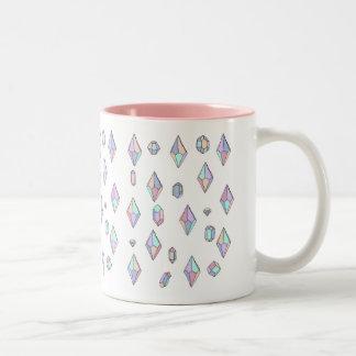 ダイヤモンドのマグ ツートーンマグカップ