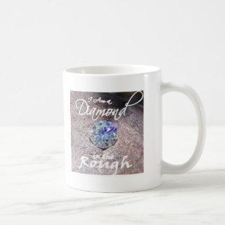 ダイヤモンドの原石 コーヒーマグカップ