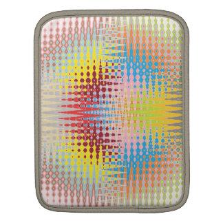 ダイヤモンドの多彩なペーパー・クラフトパターン iPadスリーブ