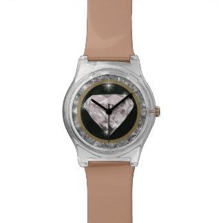 ダイヤモンドの大切な時間 腕時計