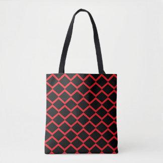ダイヤモンドの幾何学的なパターン トートバッグ