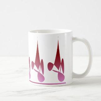 ダイヤモンドの影のマグ コーヒーマグカップ