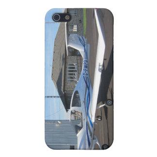 ダイヤモンドの航空機DA40 iPhone SE/5/5sケース