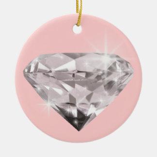 ダイヤモンドの輝やきは飾ります セラミックオーナメント