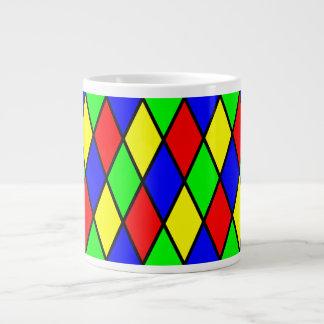 ダイヤモンドの道化師のジャンボマグ ジャンボコーヒーマグカップ