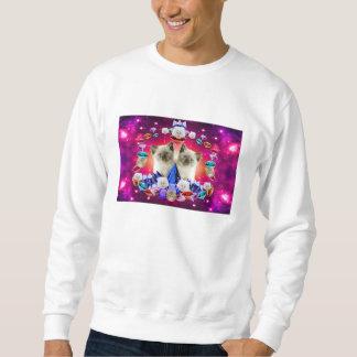 ダイヤモンドの銀河系猫 スウェットシャツ