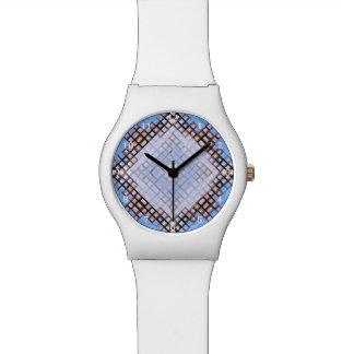 ダイヤモンドの青 腕時計