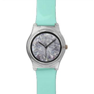 ダイヤモンドの顔 腕時計