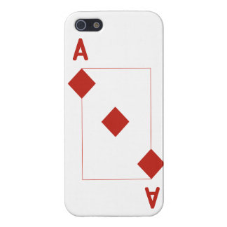 ダイヤモンドのiPhone 5の光沢のある終わりの場合のエース iPhone 5 Cover