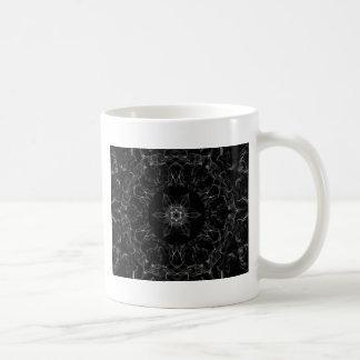 ダイヤモンドはフラクタルを炎にあてます コーヒーマグカップ