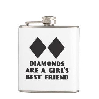 ダイヤモンドは女の子で親友のフラスコです フラスク