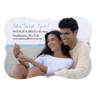 ダイヤモンドは永久に写真の結婚式の発表です カード