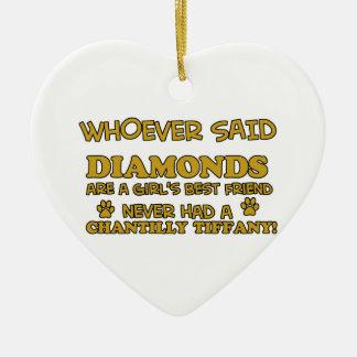 ダイヤモンドよりchantillyのtiffanyよい セラミックオーナメント