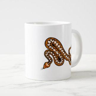 ダイヤモンドバックスのヘビ ジャンボコーヒーマグカップ