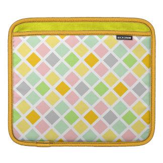 ダイヤモンドパターンラップトップ/iPadの袖 iPadスリーブ