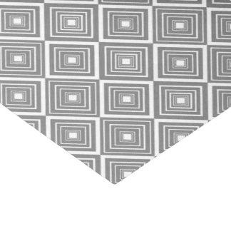 ダイヤモンドパターン灰色および白 薄葉紙