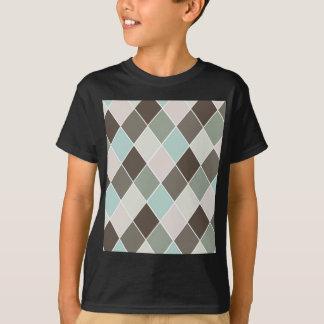 ダイヤモンドパターン Tシャツ