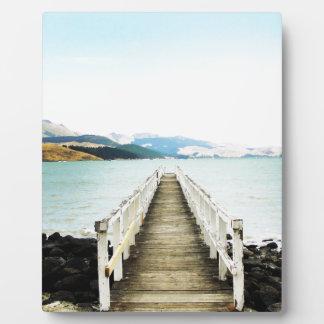 ダイヤモンド港ニュージーランド フォトプラーク