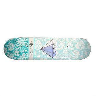 ダイヤモンド; かわいい 21.6CM スケートボードデッキ