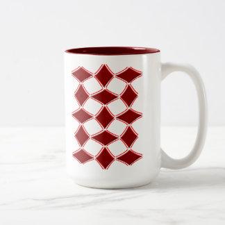 ダイヤモンド ツートーンマグカップ