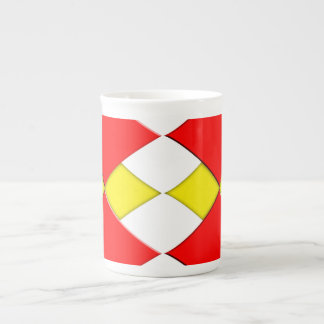 ダイヤモンド ボーンチャイナカップ