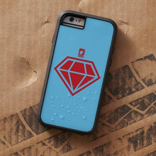 ダイヤモンド(赤) TOUGH XTREME iPhone 6 ケース