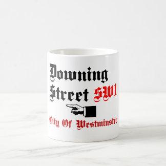 ダウニング街、ウエストミンスター コーヒーマグカップ