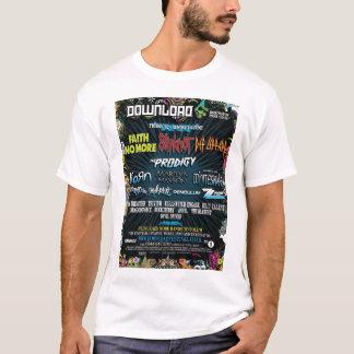 ダウンロードのフェスティバル Tシャツ