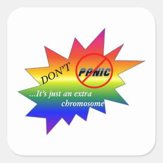 ダウン症の認識度項目 スクエアシール
