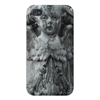 ダグのおもしろい-銅の天使のiPhone iPhone 4 Cover